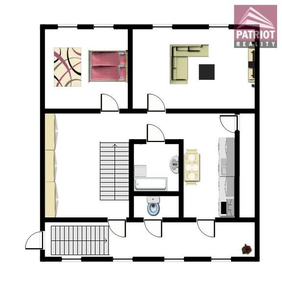 Mezonetový byt 5+1 Rejskova v Olomouci   PRODÁNO - 2